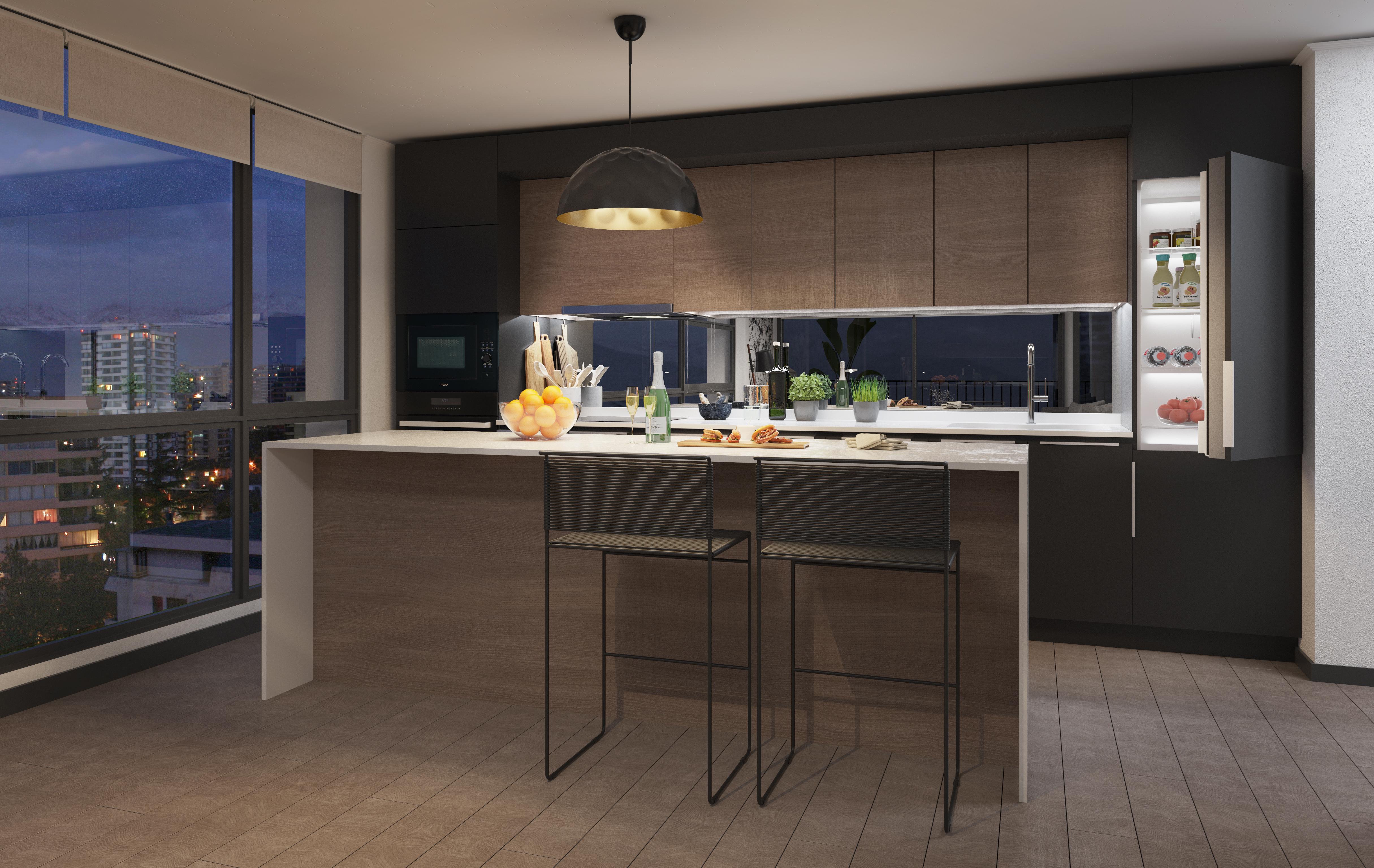 Inmobiliaria Manquehue Destaca Cocinas con Diseño en Nuevos ...